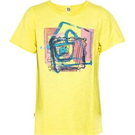 E9 Luis SS Shirt Kids, lemon